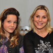 Sophie Favier et sa très jolie fille, deux fashion victims à la fashion week !