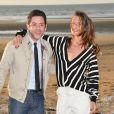 Manu Payet et Camille Cottin - 31e Festival du film romantique de Cabourg le 15 juin 2017. © Coadic Guirec/Bestimage