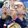 Alain Griezmann (père d'Antoine Griezmann) - People assistent au match amical de football entre la France et l Espagne au Stade de France le 28 mars 2017.