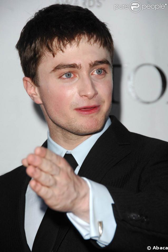 Daniel Radcliffe, alias Harry Potter