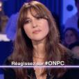 """Monica Belluci dans """"On n'est pas couché"""" sur France 2, le 17 juin 2017."""