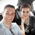 Dave Bugliari et Alyssa Milano sur une photo publiée sur Instagram le 17 juin 2017