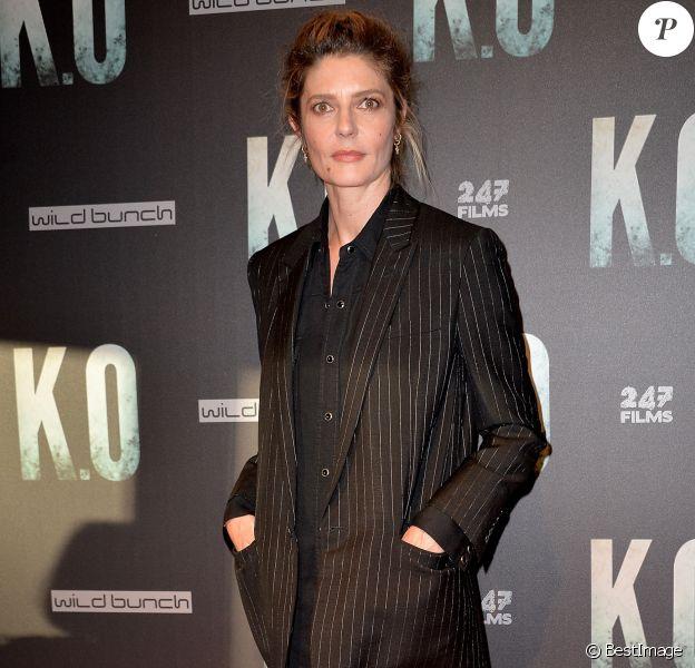 Chiara Mastroianni lors de l'avant-première du film ''K.O'' à Paris, le 9 juin 2017.