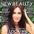 Courteney Cox en couverture de NewBeauty