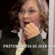 """Françoise, prétendante de Jean-Marc. """"L'amour est dans le pré 2017"""" sur M6, le 26 juin 2017."""