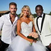 Rio Mavuba a épousé sa belle Élodie : Mariage chargé d'émotion, M. Pokora invité