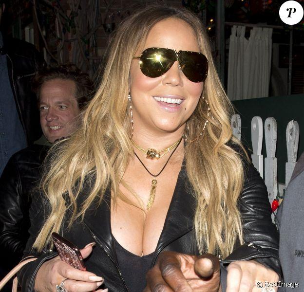 Mariah Carey à Los Angeles, Californie, Etats-Unis, le 6 juin 2017