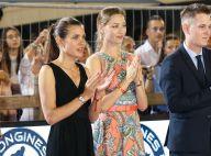Charlotte Casiraghi et Beatrice Borromeo, duo glamour au Jumping de Monaco