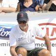 """Patrick Bosso - Tournoi de pétanque """"Grand Prix des Personnalités"""" à L'Isle-sur-la-Sorgue le 24 juin 2017 © Eric Etten / Bestimage"""