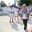 """Le chanteur Renaud au tournoi de pétanque """"Grand Prix des Personnalités"""" à L'Isle-sur-la-Sorgue le 24 juin 2017 © Eric Etten / Bestimage"""