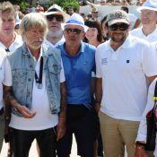 Renaud et Patrick Bruel : Réunis à L'Isle-sur-la-Sorgue entre VIP de la pétanque