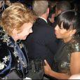 Soirée organisée au Nouveau Musée de Washington par le Huffington Post le 20 janvier 2009, jour de l'investiture de Barack Obama : Trudie Styler et Kerry Washington