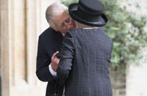 Prince Charles : Tendrement uni avec ses parents aux obsèques de sa marraine
