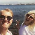 Oxanna et Gilles des Princes de l'amour 3, sur Instagram, le 28 avril 2017.