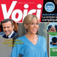 """Couverture du magazine """"Voici"""" en kiosques le 30 juin 2017."""