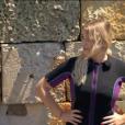 Marie Lopez en larmes, fait une grosse chute dans Fort Boyard, le 1er juillet 2017 sur France 2.