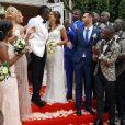 Blaise Matuidi a épousé Isabelle Malice à Paris le 1er juillet 2017.