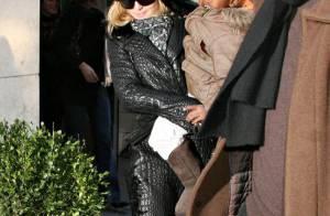 Madonna, Guy Ritchie, la super lookée Lourdes, et les garçons : une vraie famille bonheur... mouais !