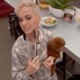 Katy Perry et son chien Nugget - Photo publiée sur Instagram le 8 juin 2017