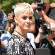 """Katy Perry au défilé de mode """"Chanel"""", collection Haute-Couture automne-hiver 2017/2018, au Grand Palais à Paris. Le 4 juillet 2017 © CVS - Veeren / Bestimage"""