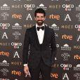 Miguel Angel Muñoz - Photocall lors de la 31ème cérémonie des Goya Awards à l'hôtel Marriott à Madrid, le 4 février 2017.