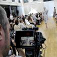 Défilé de mode Gyunel, collection Couture automne-hiver 2017/2018 à Paris, le 5 juillet 2017.