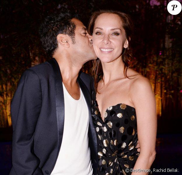 Exclusif - Jamel Debbouze et sa femme Mélissa Theuriau - Festival du rire (Marrakech du rire) à Marrakech au Maroc le 1er juillet 2017. © Rachid Bellak/Bestimage