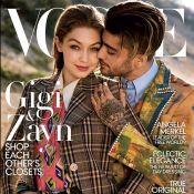Gigi Hadid et Zayn Malik : Le couple pose en couverture de Vogue