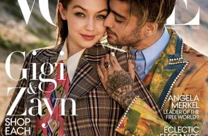 Gigi Hadid et Zayn Malik : Le couple pose en couverture de Vogue