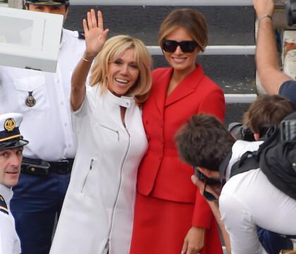 Brigitte Macron et Melania Trump : Virée touristique et intime des 1res dames