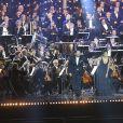 Exclusif - Bryan Hymel (ténor) et Nadine Sierra ( soprano) - Grand concert de l'Orchestre National de France au Champs de Mars présenté par S. Bern sur France 2 pour célébrer la Fête Nationale à Paris le 14 juillet 2017 © Giancarlo Gorassini / Pierre Perusseau / Veeren /