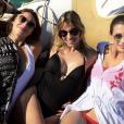 """""""Les Miss France se sont éclatées après le mariage de Sylvie Tellier, sur l'île de Porquerolles (Var) en juillet 2017."""""""