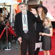 Martin Landau - Tim Burton laisse ses empreintes dans le ciment hollywoodien au TCL Chinese Theater à Hollywood, le 8 septembre 2016