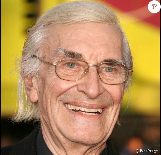 Martin Landau à la première de The X-Files, I want to believe, à Los Angeles, en 2008