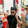 Exclusif - Kendall et Kylie Jenner passent la journée avec leur père Caitlyn Jenner pour la fête des pères à Beverly Hills le 18 juin 2017.
