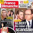 """Magazine """"France Dimanche"""" en kiosques le vendredi 21 juillet 2017."""