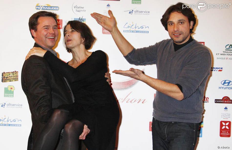 Bruno Salomone, Isabelle Gélinas et Guillaume Tonquedec au