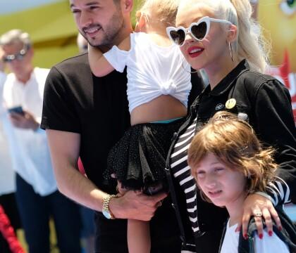 Christina Aguilera : Instant complice avec ses enfants et son fiancé