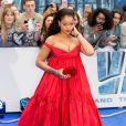 Rihanna (robe Giambattista Valli) à la première de 'Valerian' au Cineworld à Leicester Square à Londres, le 24 juillet 2017