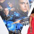 Rihanna, Dane DeHaan et Cara Delevingne à la première de 'Valerian' au Cineworld à Leicester Square à Londres, le 24 juillet 2017
