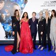 Pauline Hoarau, Rihanna, Dane DeHaan, Cara Delevingne, Sasha Luss et Aymeline Valade à la première de 'Valerian' au Cineworld à Leicester Square à Londres, le 24 juillet 2017
