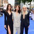 Pauline Hoarau, Aymeline Valade et Sasha Luss à la première de 'Valerian' au Cineworld à Leicester Square à Londres, le 24 juillet 2017