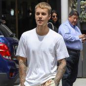 Justin Bieber : En sortant de l'église, il renverse par accident un photographe