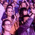 """Exclusif - Laeticia Hallyday et Caroline de Maigret - Premier concert """"Les Vieilles Canailles"""" au stade Pierre Mauroy à Lille, le 10 juin 2017 © Andre.D / Bestimage"""