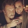 Johnny et Laeticia Hallyday sur une photo publiée sur Instagram le 15 juin 2017