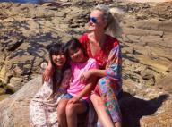 """Laeticia Hallyday célèbre adorablement les 9 ans de sa fille Joy, son """"ange"""""""