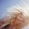 Kesha assure la promotion de son album Rainbow sur Instagram, au début du mois de juillet 2017
