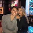 Connor Spears et Sophia Stallone en couple.