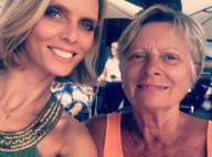 Sylvie Tellier avec sa maman Annick : Un joli cliché depuis les Sables-d'Olonne