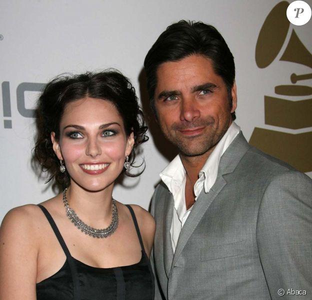 John Stamos et sa petite amie le 7 février 2009, à la soirée organisée par Clive Davis, en amont des Grammy Awards.